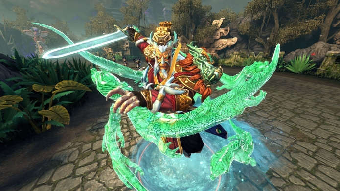 Third-Person MOBA Phenom SMITE Launches on PlayStation 4
