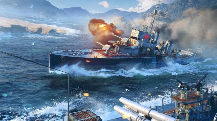 New World of Warships Update Completely Overhauls How