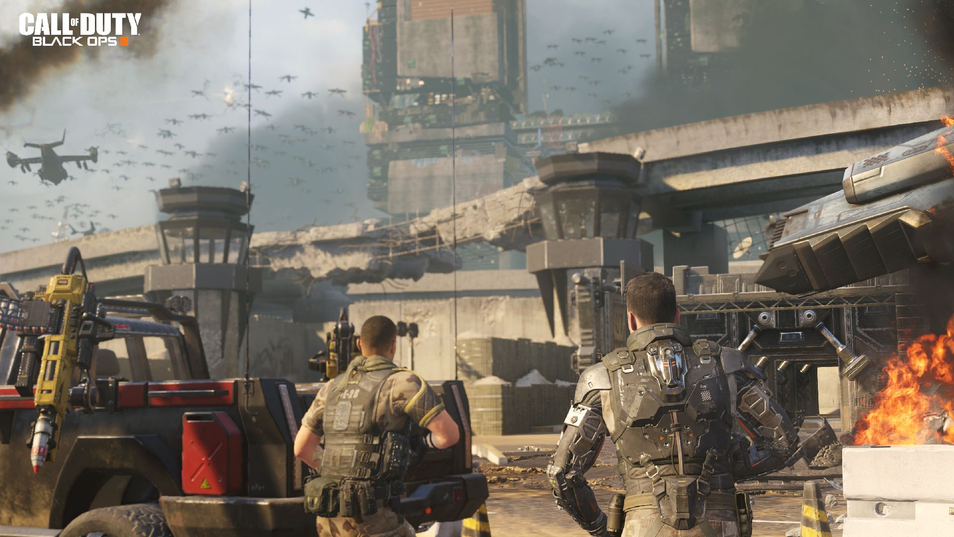 Last-Gen Black Ops 3 Ships Sans Campaign, Weapon Paint Shop and eSports Tools
