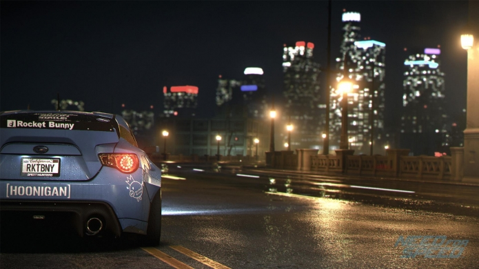 Street Racing in 4K - Need for Speed PC Out Next Month
