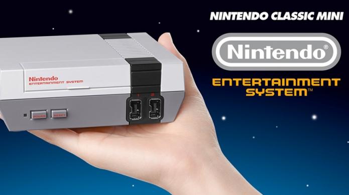 Nintendo's Surprise Mini NES Classic Console Gets a Suitably Retro Trailer