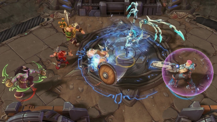 Zarya Added to Heroes of the Storm, and With All of Her Overwatch Abilities Intact