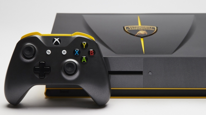 The 'Limited to One' Edition Lamborghini Centenario Xbox One S Looks Pretty Sweet
