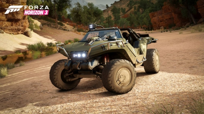 Forza Horizon 3's Garage will Include Halo's Warthog
