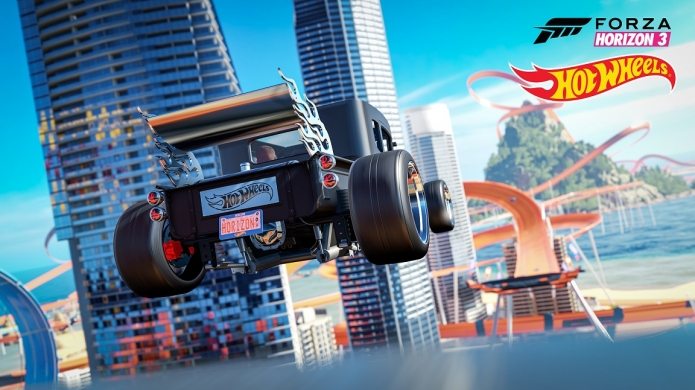 Hot Wheels and Bright Orange Stunt Courses are Coming to Forza Horizon 3