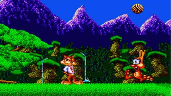 A*mazing - 16-Bit Platformer and the World's First Esport, 'Bubsy', is Making a 2017 Comeback