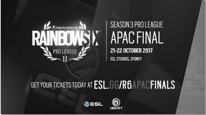 Rainbox Six Siege APAC Pro-League Finals Happening This Weekend