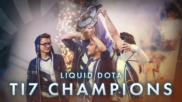 Team Liquid Make Esports History with a First Place Finish at The International 2017