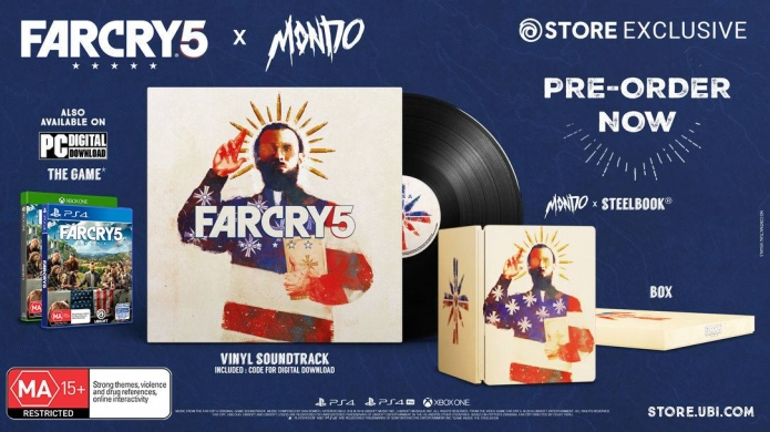 When Art Meets Cult -- Ubisoft Announces Far Cry 5 X MONDO Collectors Edition