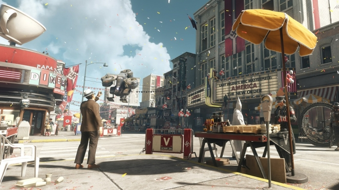 America 1961 - Hands-On with Wolfenstein II: The New Colossus