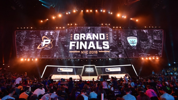 London Spitfire With the First Overwatch League Season Grand Final