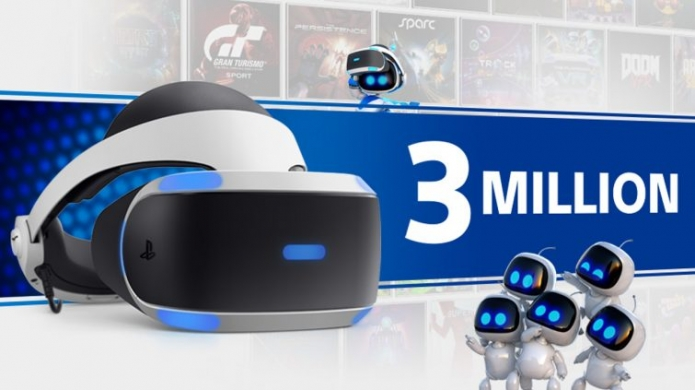 PlayStation VR Sales Pass the 3 Million Mark