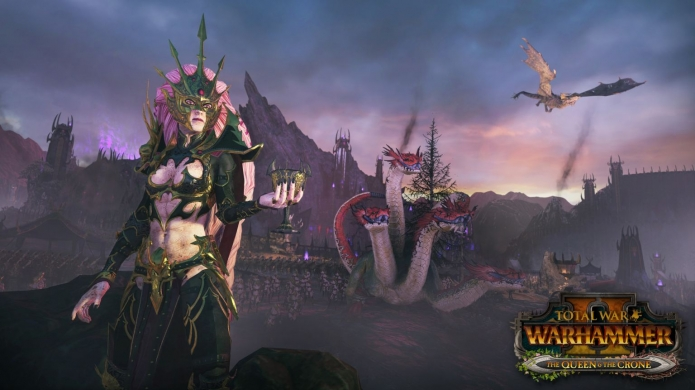 Total War: WARHAMMER II The Queen & The Crone Brings More Epic Dark Elves Action