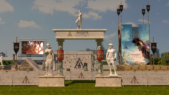Assassin's Creed Challenge Brings Full-Sized Parkour Course to Sydney