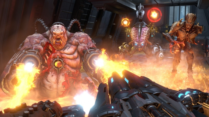 DOOM Eternal's Multiplayer is Called Battlemode and it's Definitely Not Standard Deathmatch