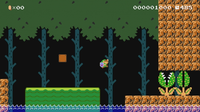 Turn Mario into Link in the Latest Super Mario Maker Update