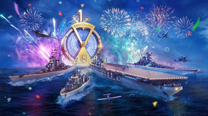 World of Warships Blitz Turns One, Celebrating with Gifts and Activities