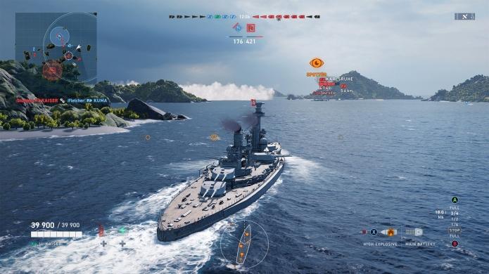 Christining the Celebratory Battleship Tirpitz as a Premium World of