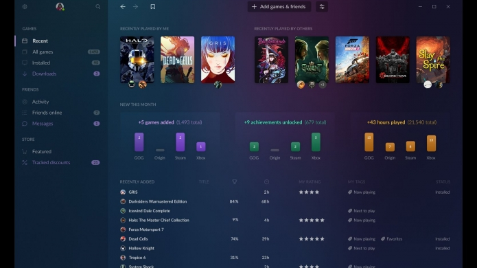 GOG Galaxy 2.0 Promises 'All Your Games and Friends in One Place'