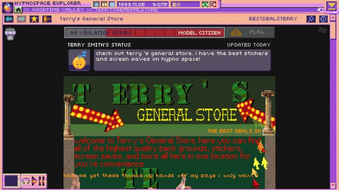 1990s Internet Simulator 'Hypnospace Outlaw' Dated for March