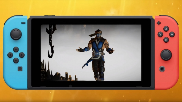 Here's Mortal Kombat 11 Running on Nintendo Switch