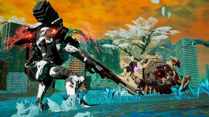 DAEMON X MACHINA Review - Laser Rifles, Giant Swords, and Heavy Metal