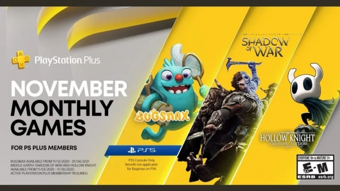 PlayStation Plus Games For November Includes Bugsnax for PlayStation 5