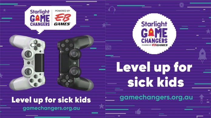 Starlight Game Changers Encourages All to 'Level Up' for Sick Kids and Teens