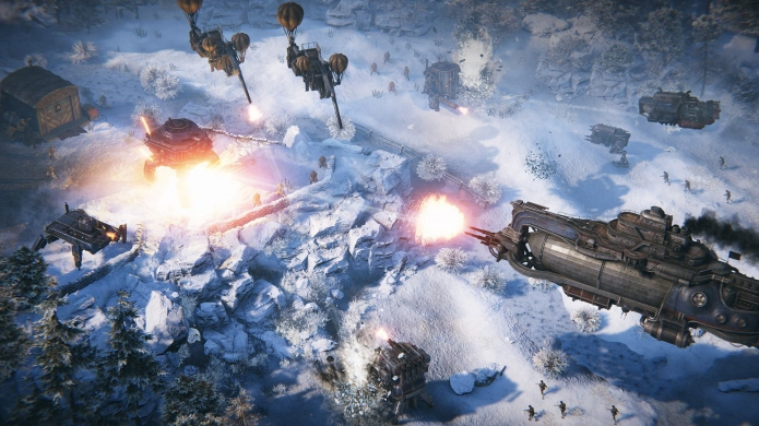 Iron Harvest 'Operation Eagle' is a New Expansion That Introduces a New Faction and Campaign