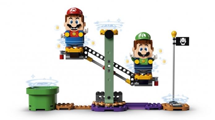 Super Mario Bros. Blocks Unite as LEGO Luigi Starter Kit Releases