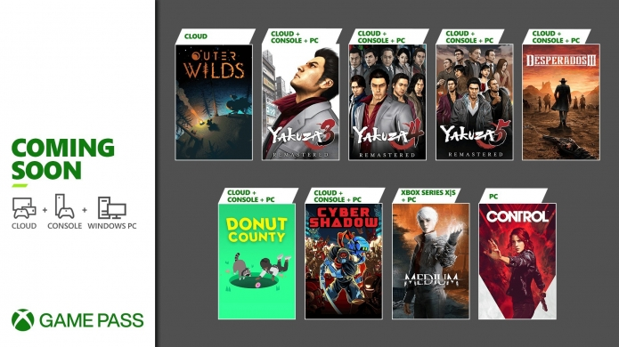 Xbox Game Pass for January 2021 Has a Lot of Yakuza Action Still to Come