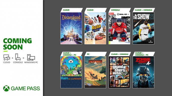 Xbox Game Pass for April 2021 Sees the Console Return of Grand Theft Auto V