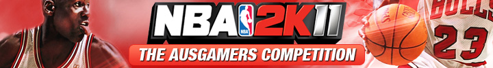 The NBA 2K11 Competition Banner