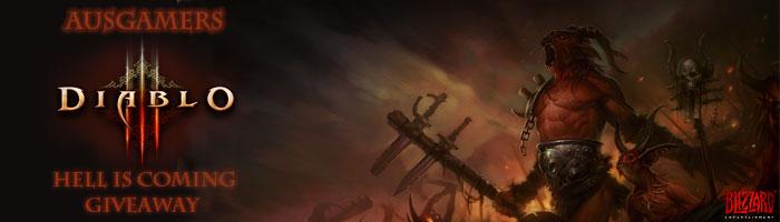 AusGamers Diablo 3 Competition Banner