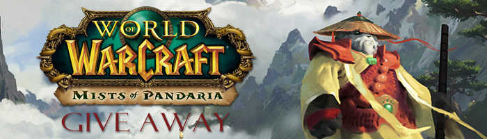 AusGamers Mists of Pandaria Give Away Banner