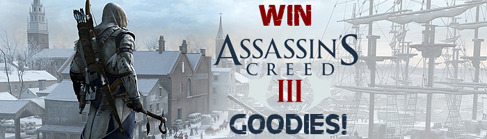 AusGamers Assassins Creed 3 Giveaway Banner